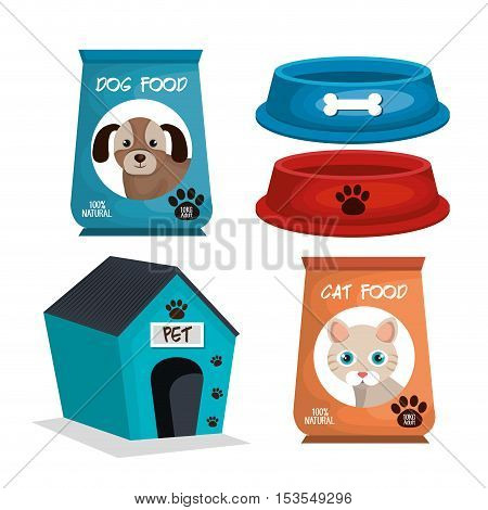 pet mascot isolated icon vector illustration design