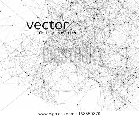 Vector Abstract Particles.