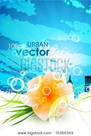 Flower urban design