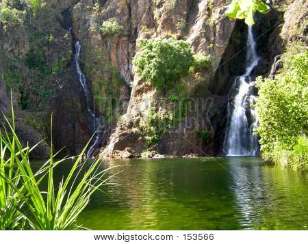 Australia's Wangi Falls