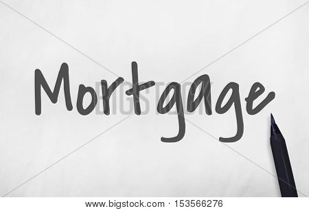 Mortgage Money Finance Property Concept