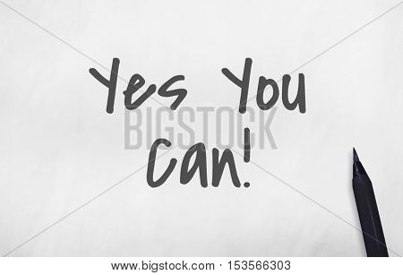 Yes You We Can Concept