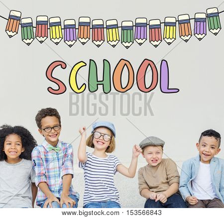 School Education Learning Study Concept