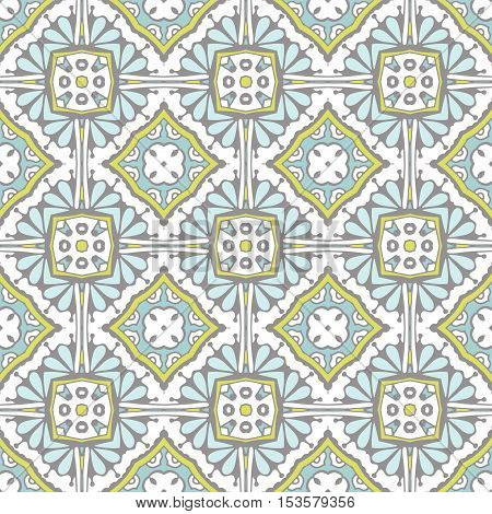 Cute abstract contemporary tile seamless pattern. Can be used for wallpaper, cover fills, web page background, surface textures.