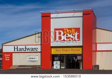 Do It Best Hardware Store And Logo