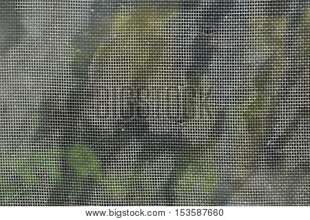 stain on mosquito net texture and background