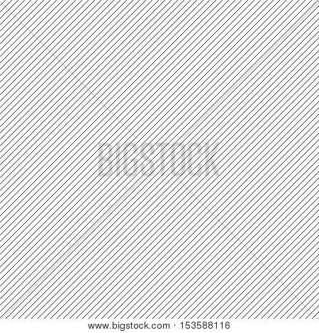 Thin black stripes on 45 degrees seamless pattern