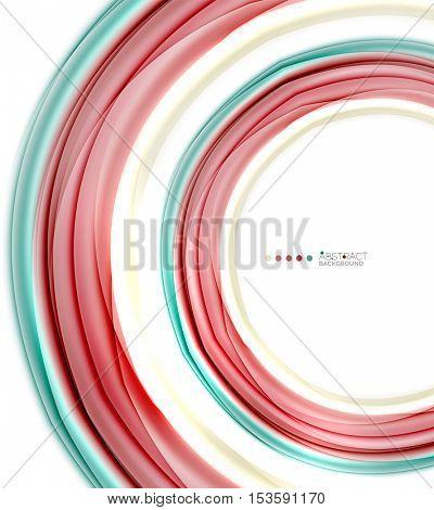 Blurred swirl background vector template
