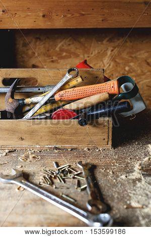 Carpenter Lumber Timber Woodwork Concept