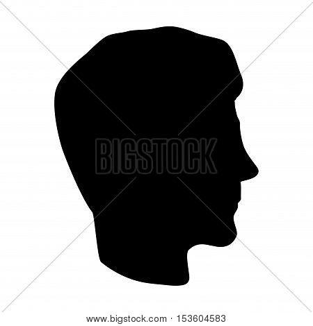 man profile icon image vector illustration design