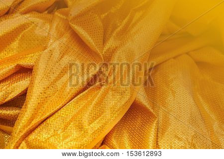 Textile industry and fabric backgrounds. satin fabric silky and smooth fabric as a background.