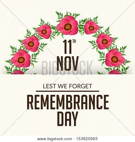 Remembrance Day_25_oct_18