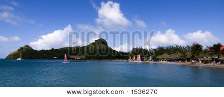 Pidgeon Island In St Lucia