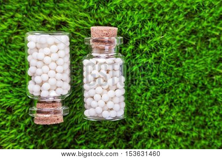 Homeopathy pills beauty medicine flower therapy health