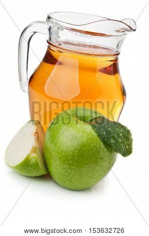 Fresh Apple And Juice