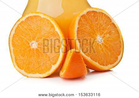 Funny Face Of The Orange Slices