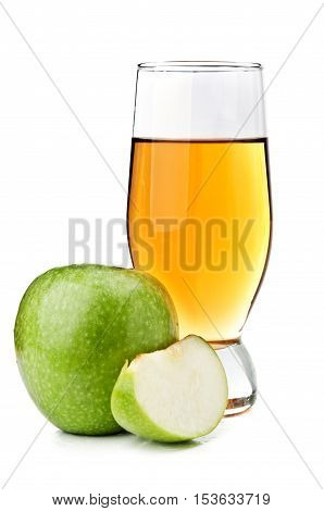 Fresh Apples And Juice