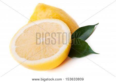 Two Halves Of A Lemon