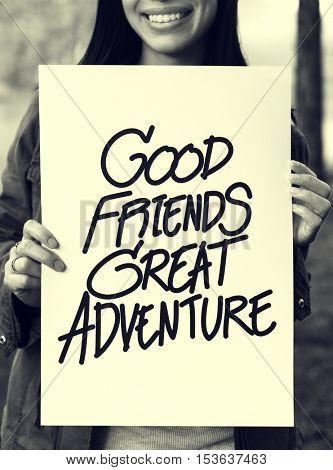 Good Friends Great Adventure Recreation Park Concept