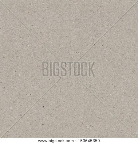 Seamless paper texture, gray recycled cardboard background