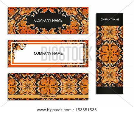 Set Of Templates For Flyers