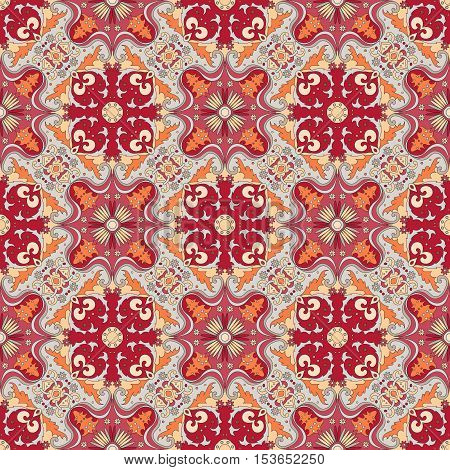 Seamless Color Pattern.