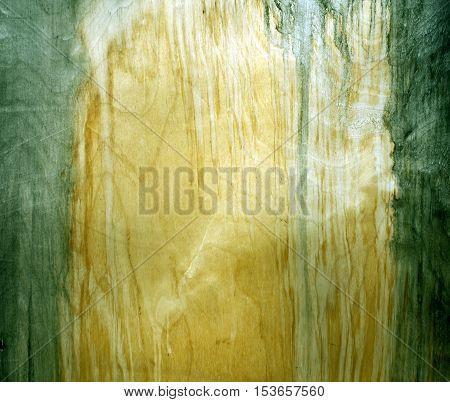 Weathered Green Fiberboard Texture.