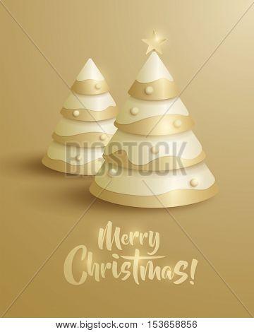 Merry Christmas! Christmas tree.