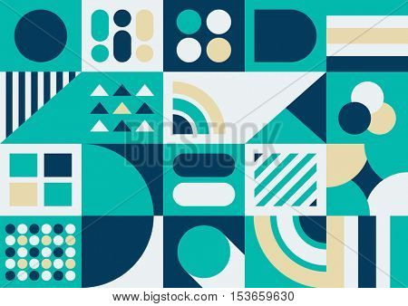 Vector of abstract modern shape and pattern