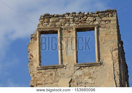 Old House in Gordes, Manisa, West Turkey.