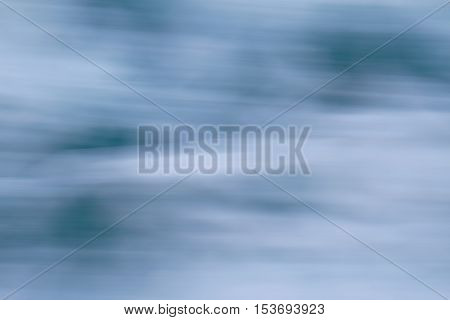 Abstract speedy water movement water white and blue background pattern