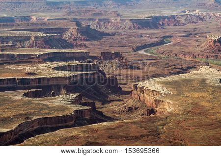 A beautiful view on the Canyonlands National Park,Utah,USA.