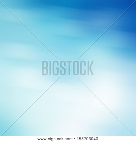 soft colored abstract background, blue blur texture with white motion lights