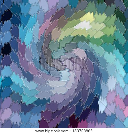 Abstract coloring background of the twirl and curved lines,good for your project design
