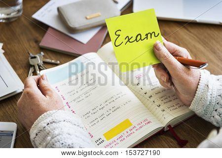 Exam Check Quiz Knowledge Lesson Test Concept