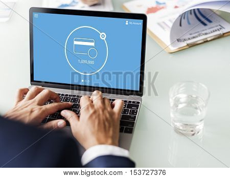 Online Payment Internet Banking Technology Concept