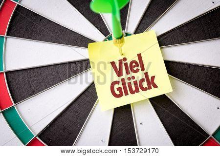 Good Luck (in German)
