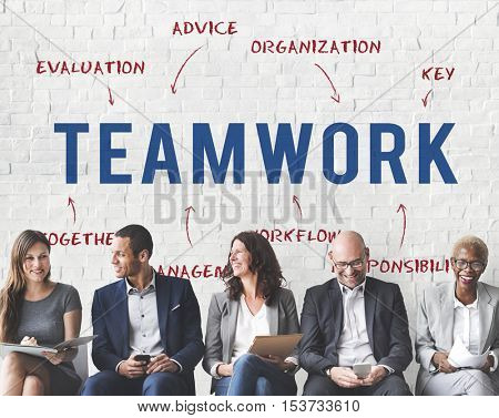 Teamwork Business Company Strategy Marketing Concept