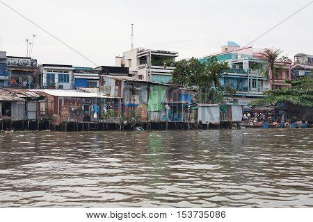 Mekong River Delta Vietnam