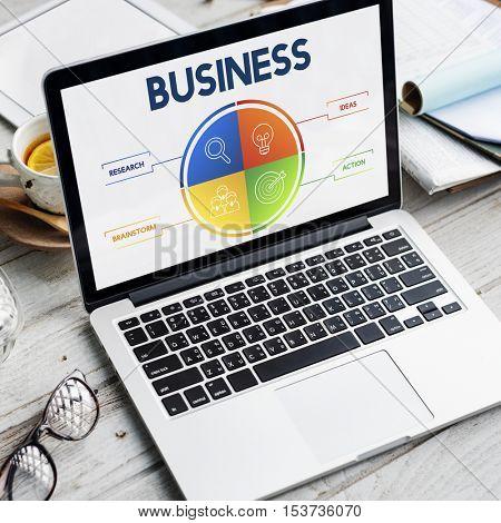 Business Plan Strategy Development Concept