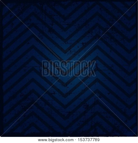 Background pattern zig-zag -blue and black color