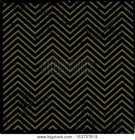 Background pattern zig-zag -yellow and black color