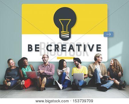 Creative Idea Diverse People Concept