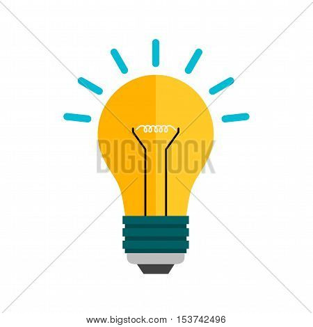 Innovation, creative, idea icon vector image. Can also be used for web. Suitable for mobile apps, web apps and print media.