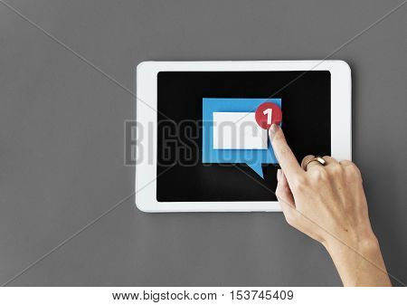 Tablet Digital Device Information Technology Concept