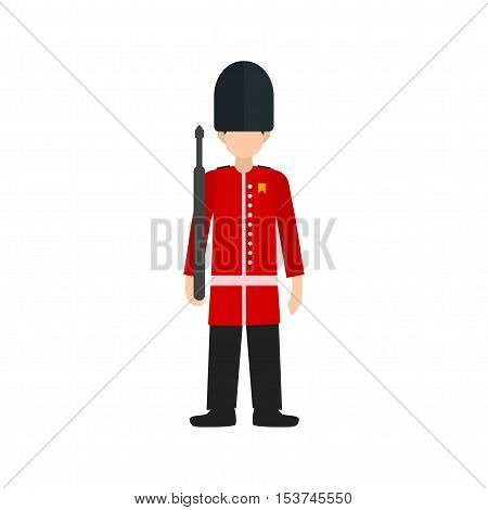 Guard, london, royal icon vector image. Can also be used for people. Suitable for use on web apps, mobile apps and print media.