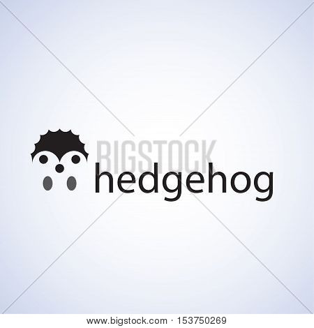 hedgehog ideas design vector illustration on background
