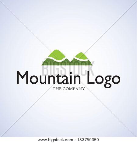 mountain ideas design vector illustration on background