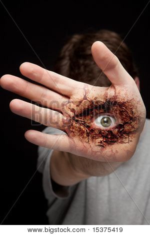 Eye On Hand - Vision And Identity Concept