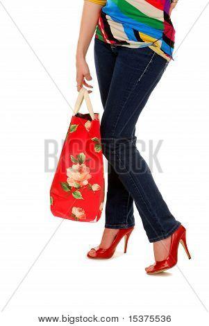 Shopping Bag Legs